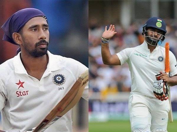 Wriddhiman Saha vs Rishap Pant