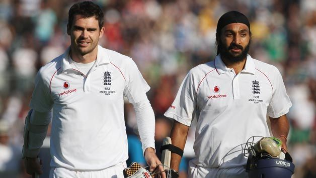 Anderson and Panesar showed great character with the bat