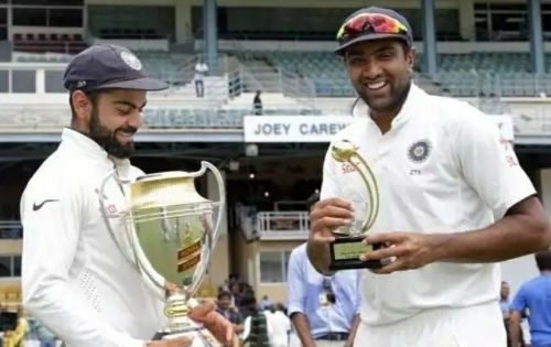 Virat Kohli and Ravichandran Ashwin were the top run-scorers and wicket-takers in the Test Series in 2016