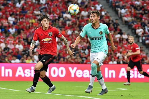 Manchester United International Champions Cup 2020.Harry Maguire And Victor Lindelof S Partnership Could Play A