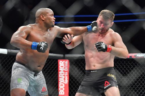 Cormier defeated Miocic by knockout in their first fight in 2018