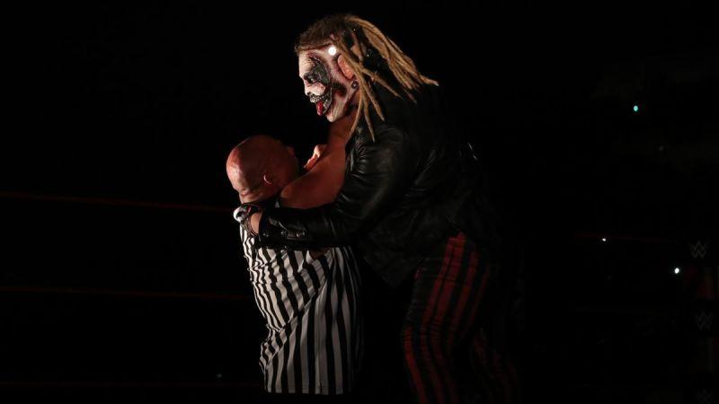 Bray Wyatt took out Kurt Angle in this creepy segment