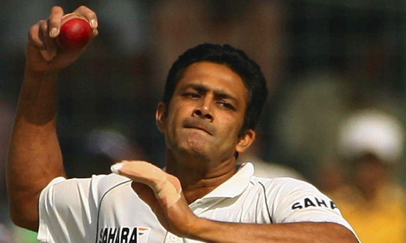 Kumble is the third highest wicket taker in Test cricket history.