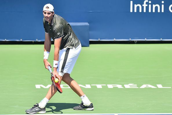 The big-serving John Isner is the highest seeded American in the draw.