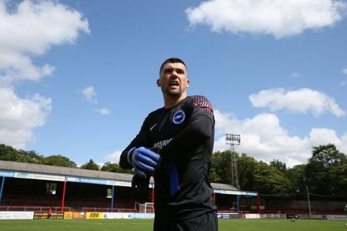 Matt Ryan made 3 very important saves to keep Brighton's clean sheet