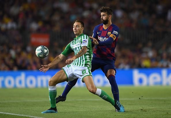 Moron created Betis' first and netted a wonderful second while persisting as a nuisance for Barca