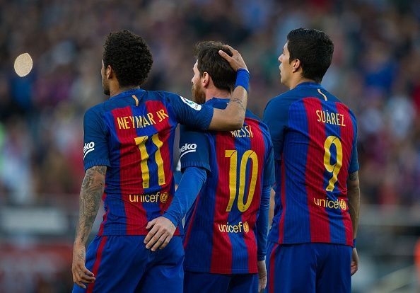 Ranking the top 5 attacking trios in Europe at the moment