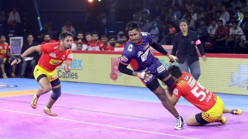 Gujarat Fortune Giants' defence struggled against Bengal Warriors