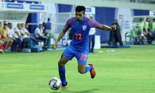 Rahul Bheke made his India debut in the Thailand King's Cup in June