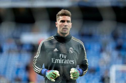 Real Madrid have introduced Luca Zidane to the first team.