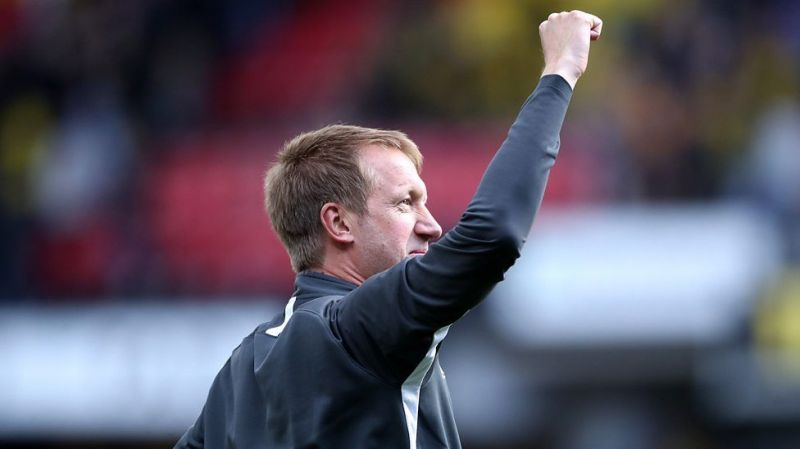 Graham Potter after 3-0 victory over Watford on Premier League debut