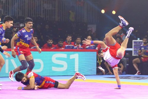 Haryana Steelers won the close-called battle against UP Yoddha