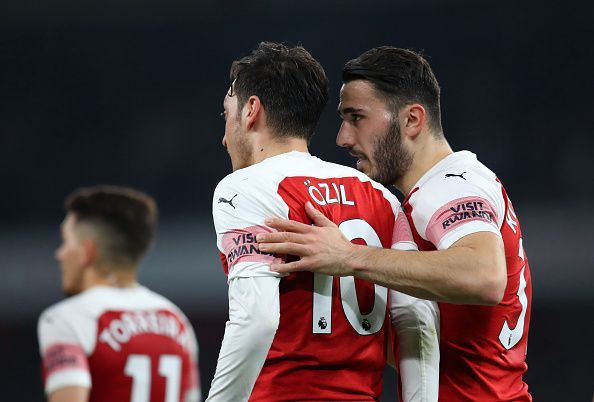 Sead Kolasinac and Mesut Ozil have been omitted from the Arsenal squad owing to security concerns