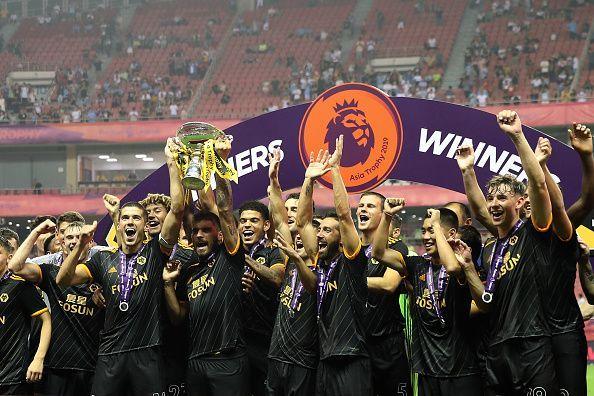 Wolves won the Premier League Asia Trophy