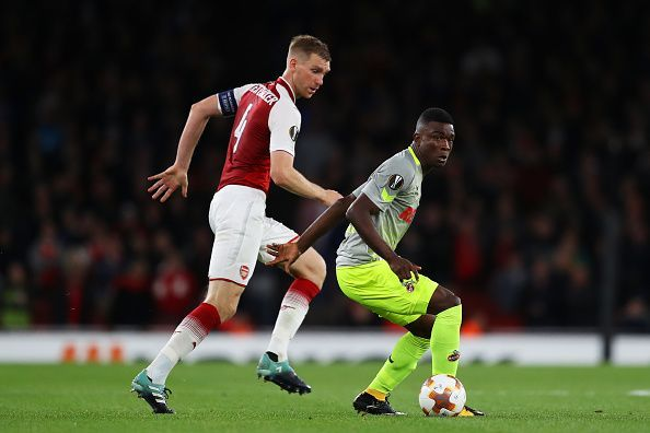 Cordoba was on the pitch a couple of seasons ago when FC Koln visited Arsenal in the Europa League