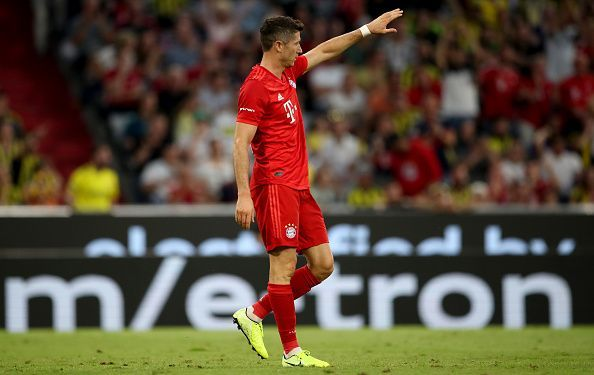 Robert Lewandowski is one of the most lethal strikers in the world