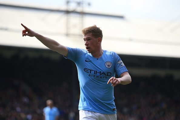 Kevin De Bruyne can offer great value Crystal Palace v Manchester City - Premier League