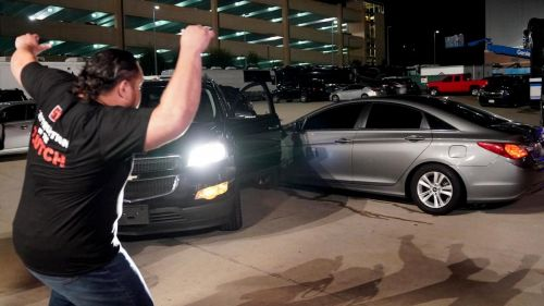 Roman Reigns was nearly crushed this week in a hit and run attack by a mysterious assailant.