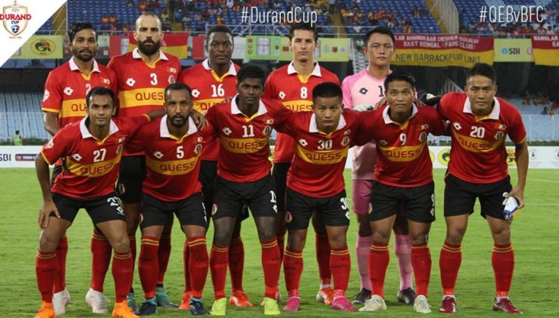 East Bengal produced a disappointing performance to bow out of the Durand Cup