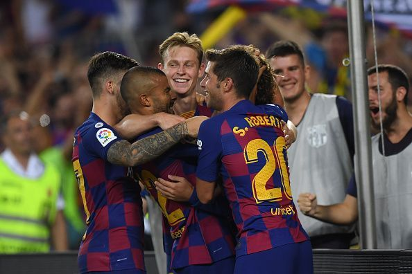 FC Barcelona got their first points of the season against Real Betis
