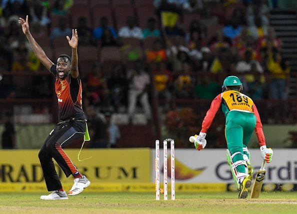 Guyana Amazon Warriors v Trinbago Knight Riders - 2018 Hero Caribbean Premier League (CPL) Tournament Play-Off 1