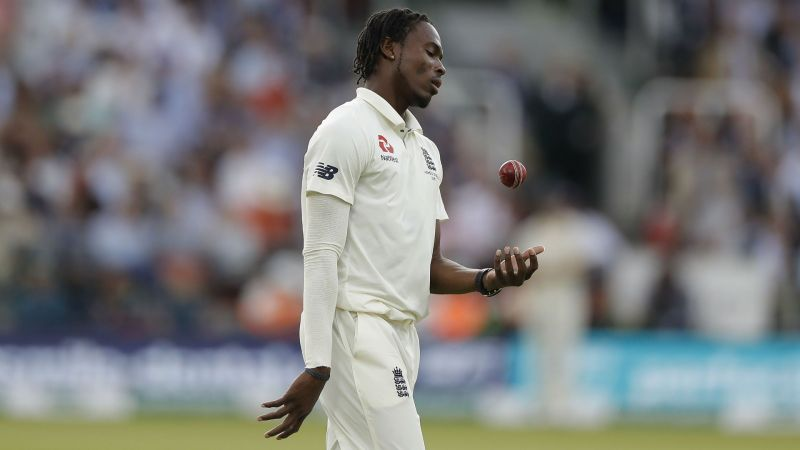 Jofra Archer during the second Test