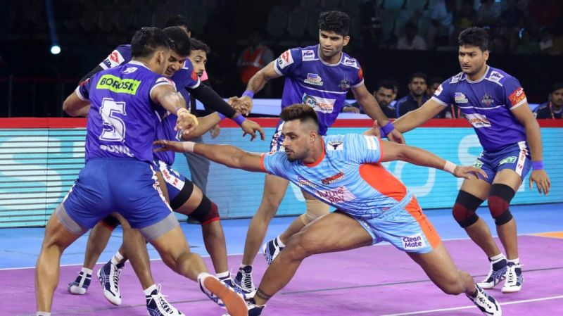 Haryana Steelers dashed the hopes of Bengal Warriors