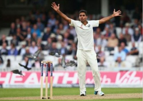 Bhuvneshwar Kumar's spell helped India take the advantage
