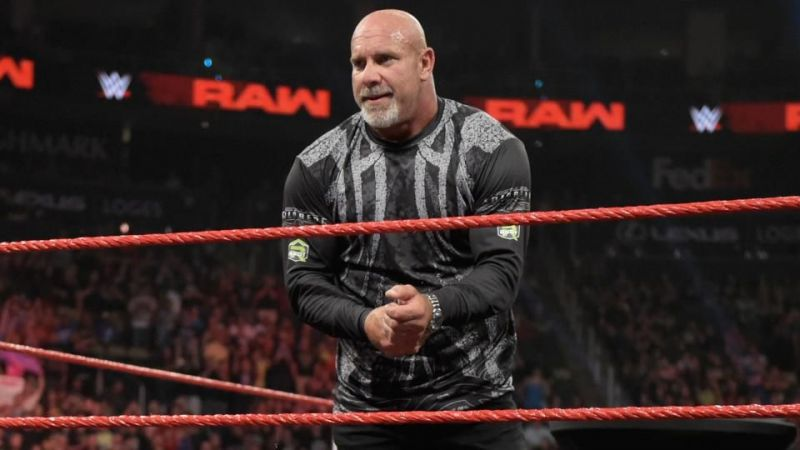 Goldberg returns on WWE Raw this week