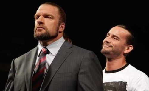 CM Punk and Triple H