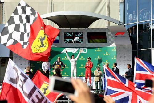 F1 Grand Prix of Hungary where Hamilton reigned supreme