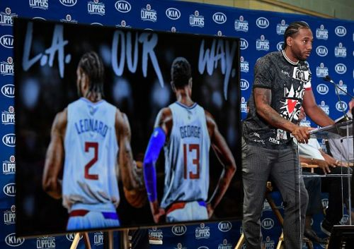 Clippers have become instant title contenders after signing Kawhi Leonard in free agency
