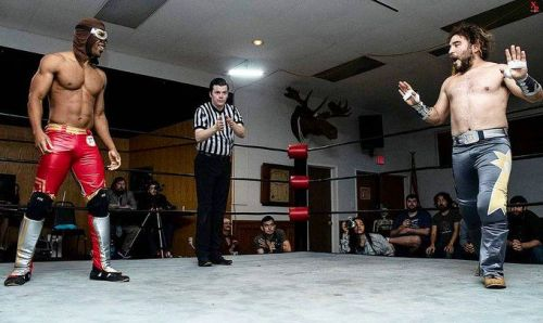 Referee Odie Brown in action