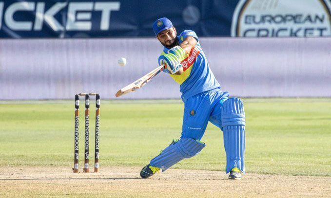 अहमद नबी (फोटो - यूरोपियन क्रिकेट ट्विटर)