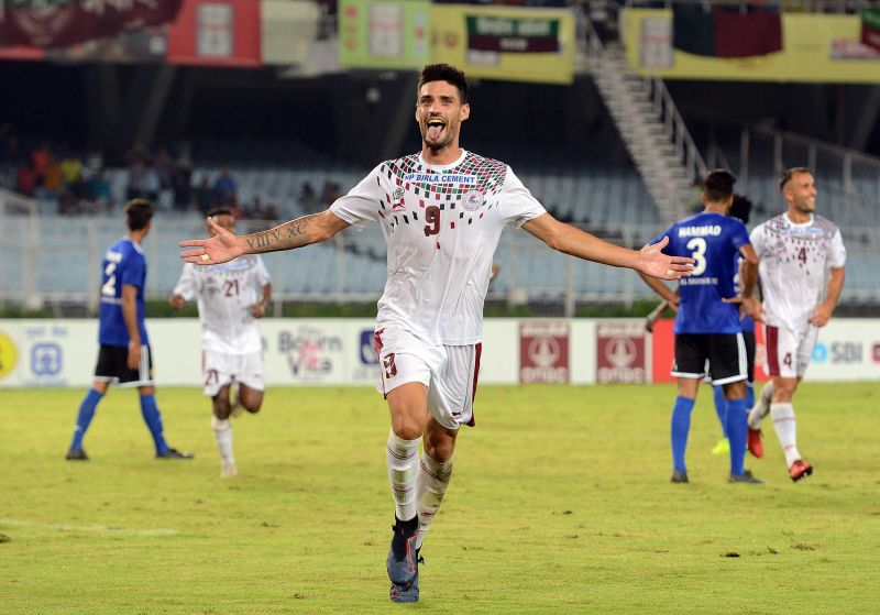 Salva Chamorro scored the opening goal for Mohun Bagan