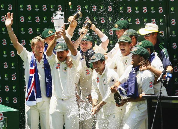 Fifth Test - Australia v England: Day Four