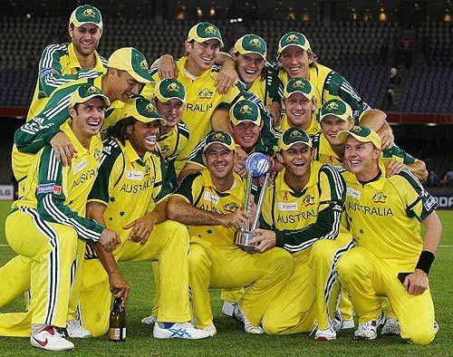 2005 की आईसीसी सुपर सीरीज की विजेता ऑस्ट्रेलिया टीम