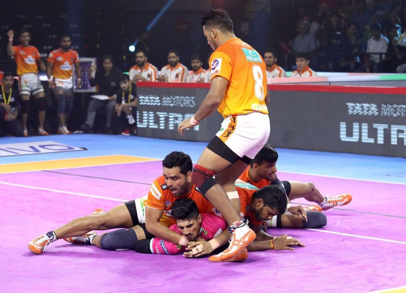 The Pune defenders put up a decent show