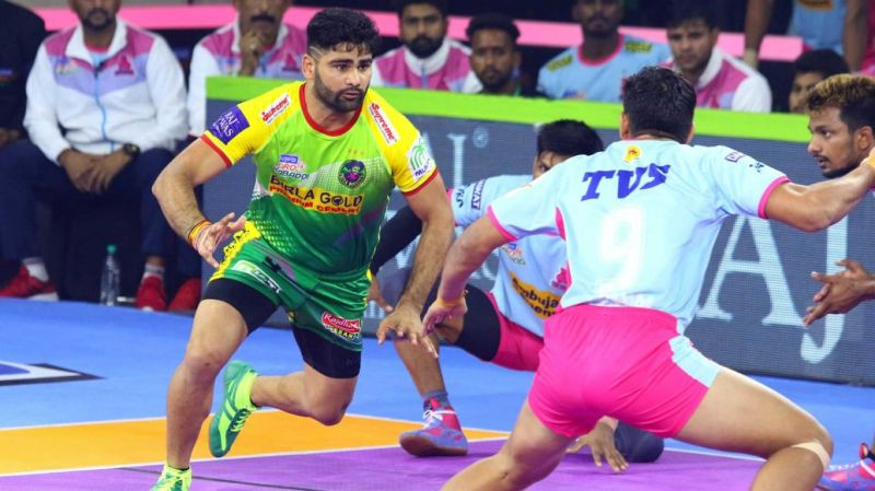 Pardeep Narwal was the top-scorer for Patna