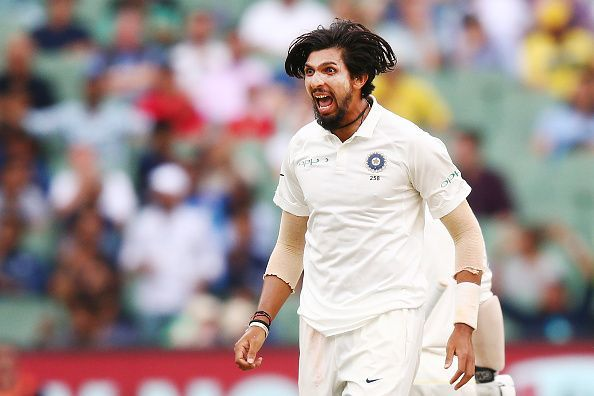 Ishant Sharma ran through the middle order of West Indies