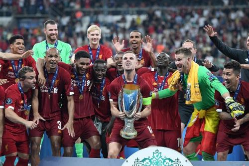 Liverpool defeated Chelsea to win the 2019 UEFA Super Cup
