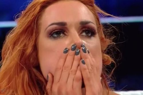 A match against 'The Man' Becky Lynch?