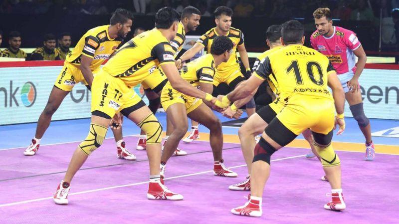 Can the Telugu Titans clinch a win?