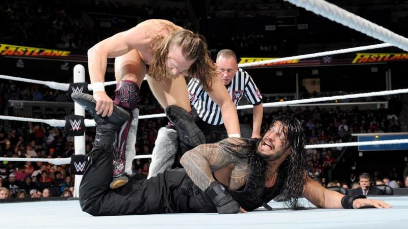 Daniel Bryan battled Roman Reigns at Fastlane 2015, with a WrestleMania title shot hanging in the balance