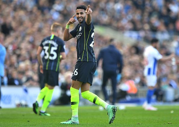 City made Mahrez their most expensive player last summer