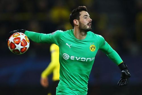 Roman Burki will be the first choice in goal for Borussia Dortmund