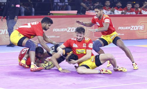 Gujarat's defense worked out well but they could not seal a victory