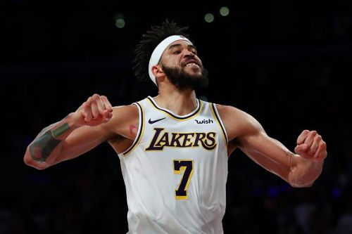 JaVale McGee made a surprise return to the Los Angeles Lakers
