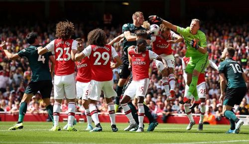 Arsenal FC v Burnley FC - Premier League