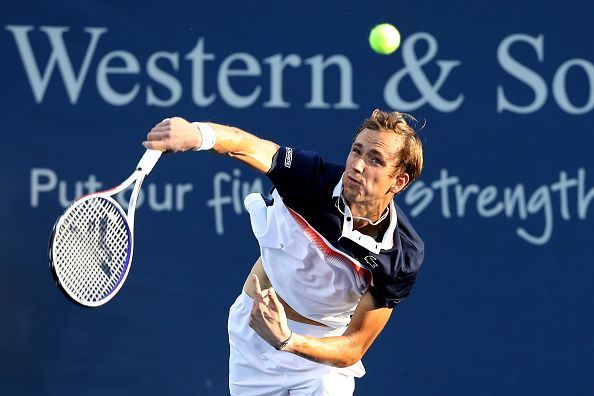 Medvedev will be looking to reach back to back Masters 1000 finals in as many weeks when he takes on Djokovic